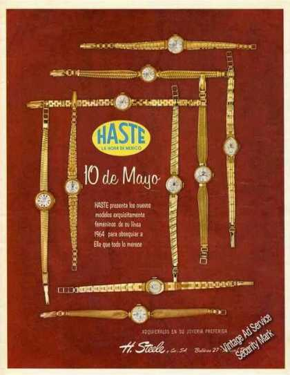 "Haste ""La Hora De Mexico"" Spanish Language (1964)"