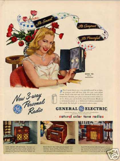 General Electric Radio Ad Model 140 (1947)