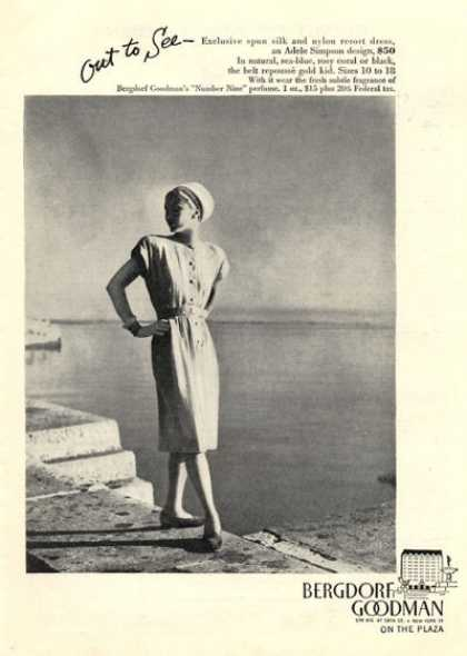 Bergdorf Goodman Fashion Simpson Design (1946)