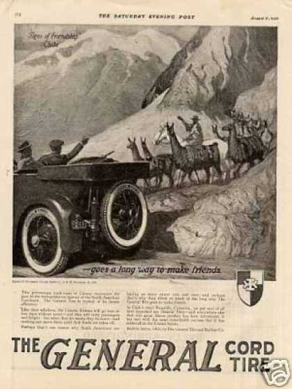 "General Tire Ad ""Friends In Chilie (1920)"
