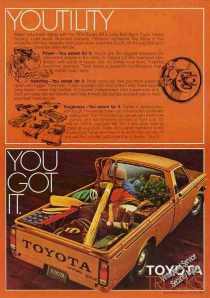 Toyota Sr-5 Long Bed Sport Truck (1978)