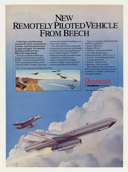Beechcraft 995 RPV Remotely Piloted Vehicle (1987)
