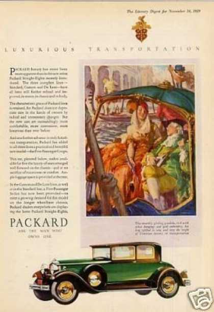 Packard Car Color (1930)