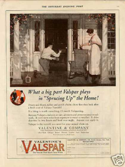 Valentine's Valspar Varnish Color (1920)