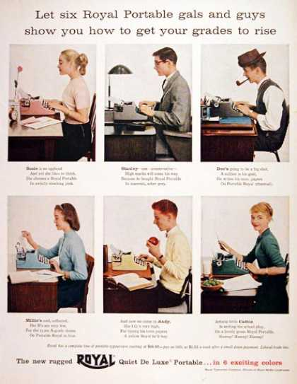 Royal Portable Typewriter #1 (1956)