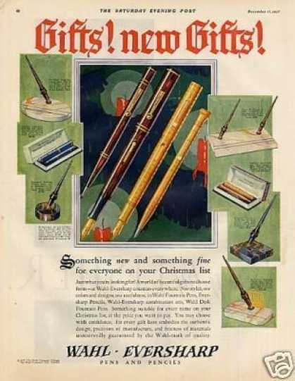 Wahl-eversharp Fountain Pens Color (1927)