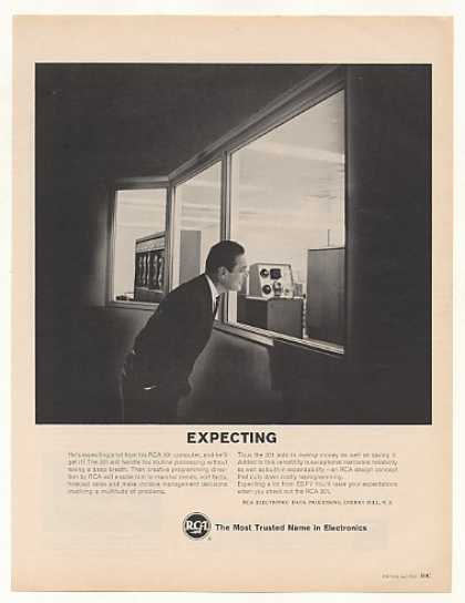 RCA 301 Computer Man Expecting a Lot (1963)