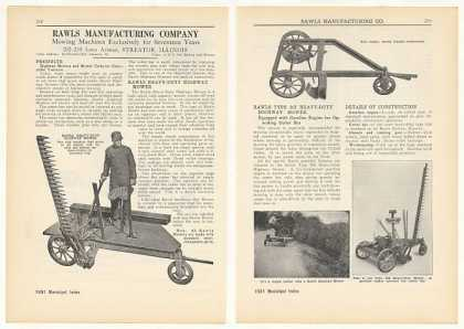 Rawls Mowing Machines Mowers 4-Page (1931)