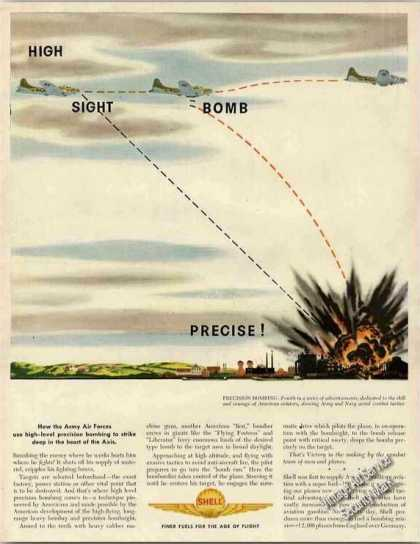 High-level Precision Bombing Wwii Shell (1944)