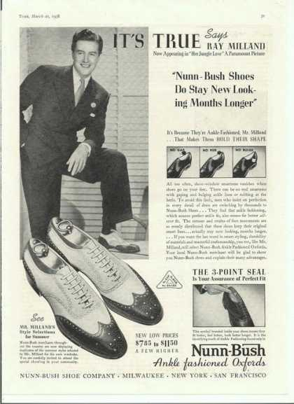 Nunn Bush Ankle Oxford Mens Shoes (1938)
