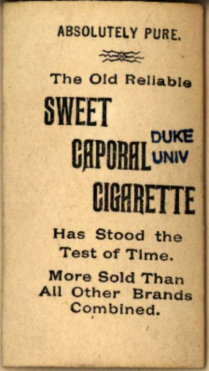Kinney Bros.'s Sweet Caporal Cigarettes – Ships – Image 1