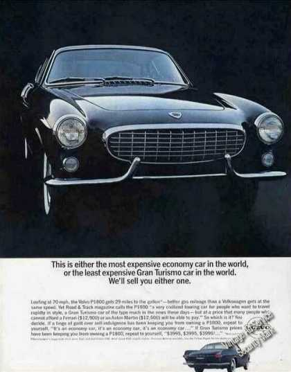 Volvo P1800 Gran Turismo Glamour Photo Car (1963)