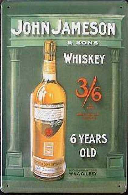 John Jameson & Sons Whiskey