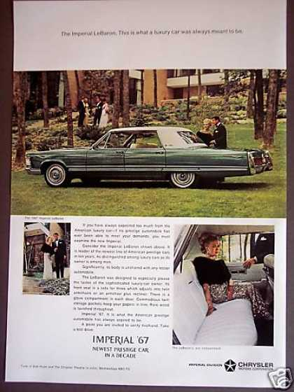Chrysler Imperial Lebaron Luxury Car (1967)