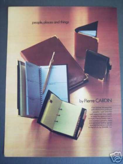 Pierre Cardin Swank Fine Leather Accessories (1979)