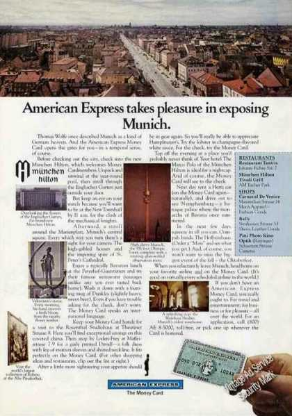 Munich Germany Photos American Express (1972)