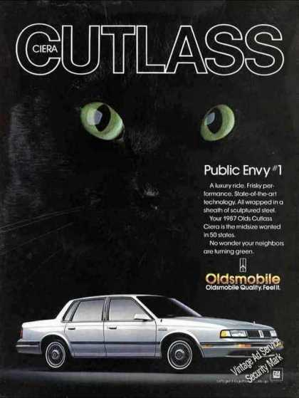 "Oldsmobile Cutlass Ciera ""Public Envy #1"" Car (1987)"