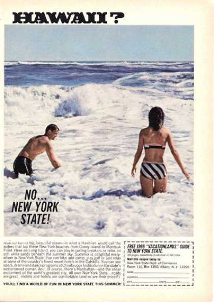 New York State Long Island Beach (1966)