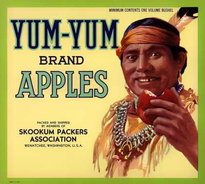 Skookum Yum-Yum Apples, c. s (1920)