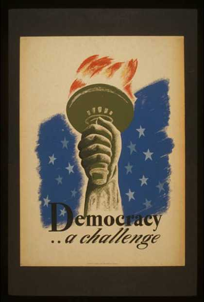 Democracy .. a challenge. (1936)
