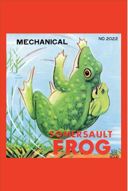 Mechanical Somersault Frog