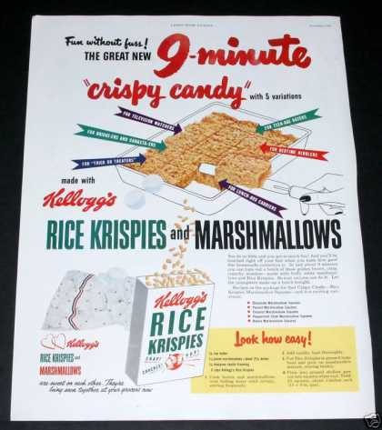 "Rice Krispies ""Crispy Candy"" (1950)"