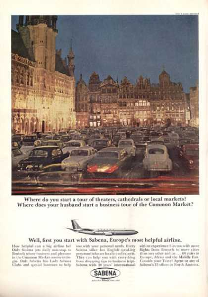 Sabena Belgian World Airlines (1963)