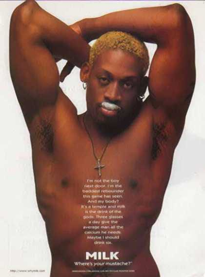 Dennis Rodman – Got Milk? – Sold (1996)