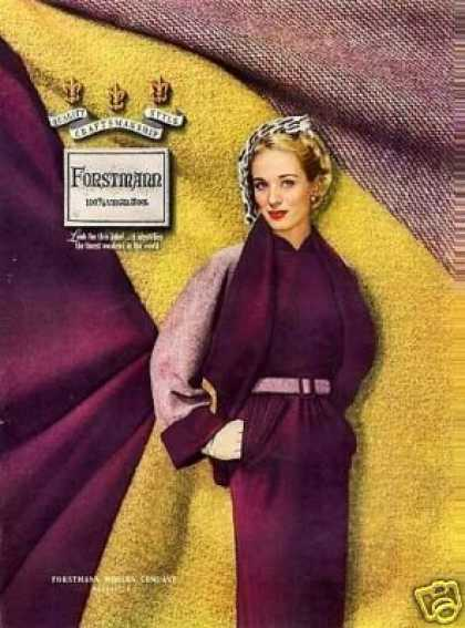 Forstmann Ladies Fashion (1946)
