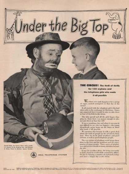 Under the Big Top Bell Telephone System (1949)