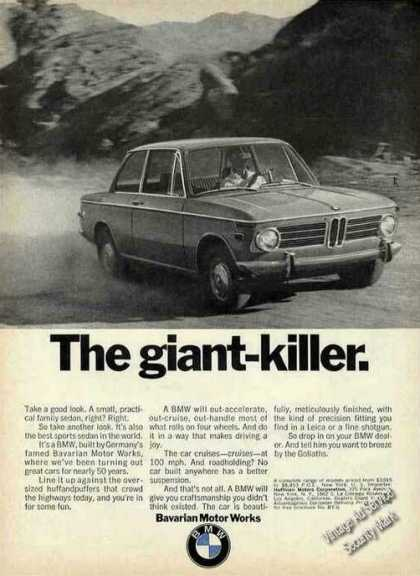 "Bmw Photo ""The Giant Killer"" Car (1970)"