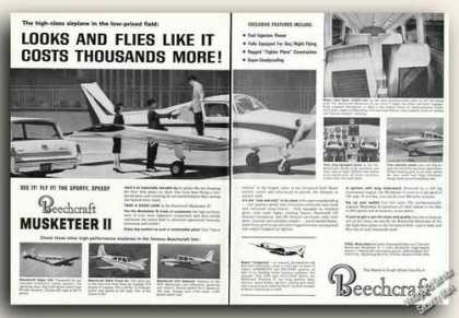 Beechcraft Musketeer Ii Photos Plane (1965)