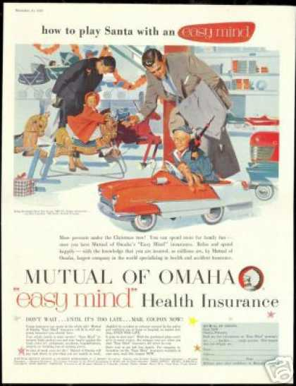 Mutual of Omaha Insurance Christmas Gifts Toys (1956)