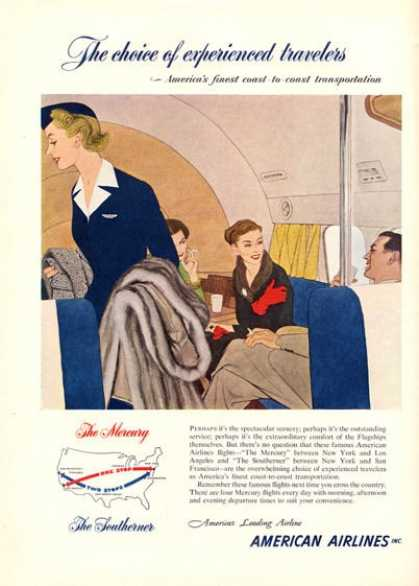 Americn Airlines Flagship Interior (1951)