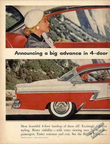 Mercury 4-door Hardtops Large 2 Page (1956)