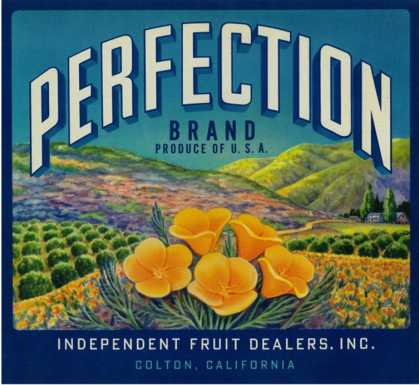 Perfection Orange Label – Colton, CA