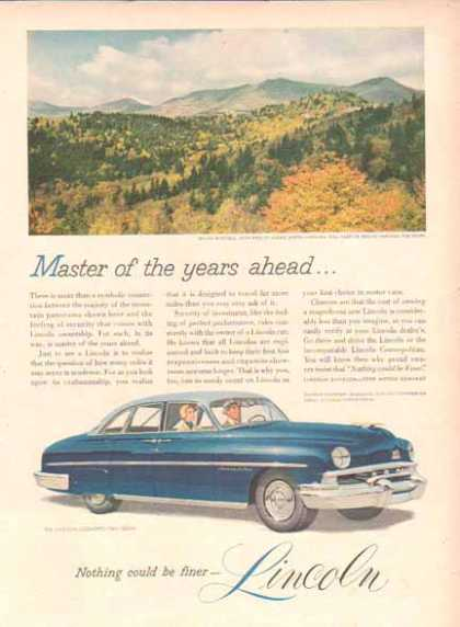 Lincoln Cosmopolitan Car – Blue Two Tone Sedan (1948)