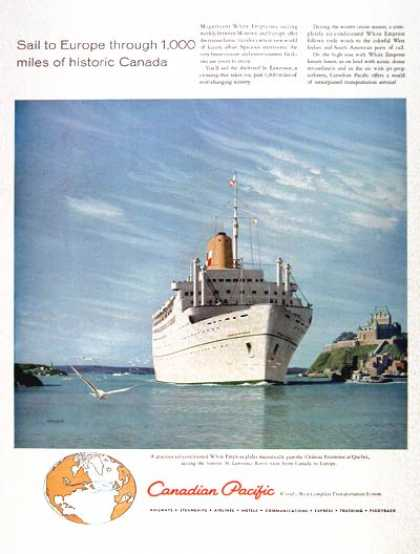Canadian Pacific White Empress (1958)