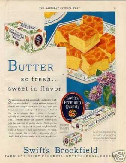 Swift's Brookfield Butter Color (1930)