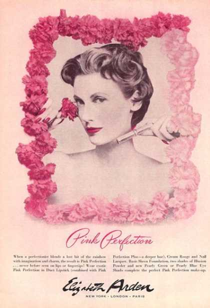 Elizabeth Arden Pink Perfection – Pretty (1953)