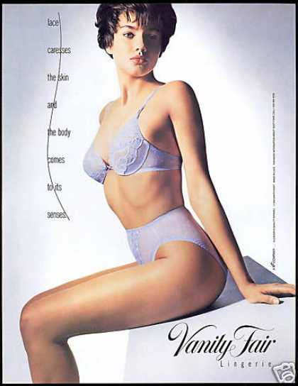 Vanity Fair Lingerie Lace Bra Panty Photo (1990)