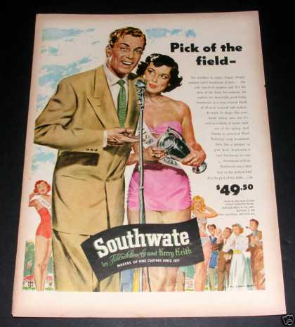 Southwate Clothes, Pin Up Art, Exc (1949)