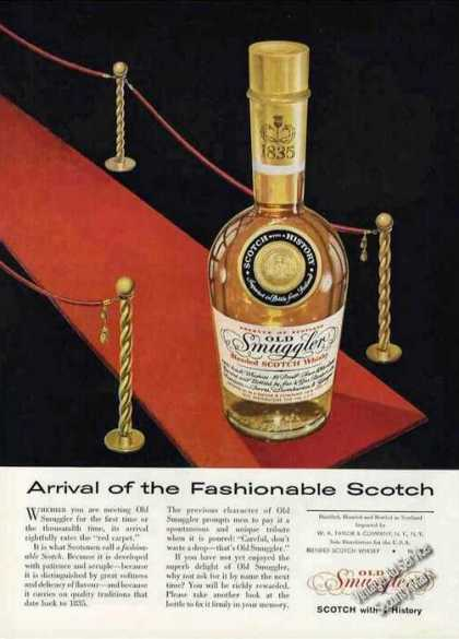 Arrival of the Fashionable Scotch Old Smuggler (1957)