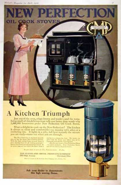 Perfection Oil Cook Stove (1919)