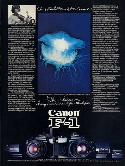 Cannon F-1 Underwater Camera F1 T (1979)
