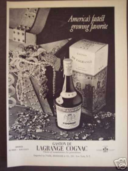 Gaston De Lagrange Cognac Original (1970)