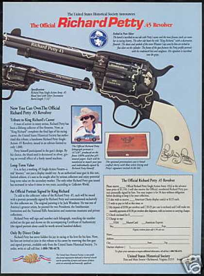 Richard Petty Winston Cup .45 Revolver (1992)