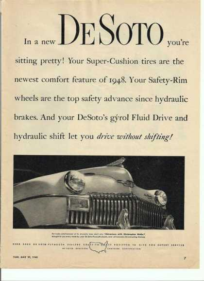 Drive Without Shifting Desoto (1948)