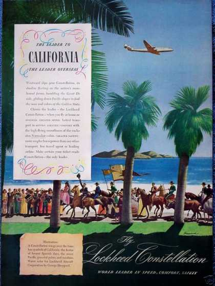 Lockheed Constellation California Spanish Palm (1946)