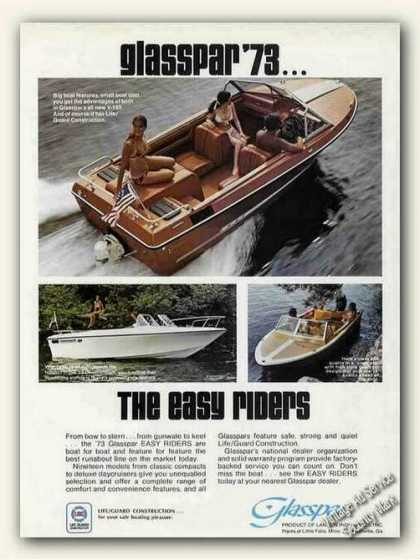 "Glasspar Boat Photos ""The Easy Riders"" (1973)"